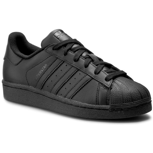 Shoes adidas - Superstar Foundation J - B25724 Cblack - Sneakers - J Low shoes - Women's shoes 691efe