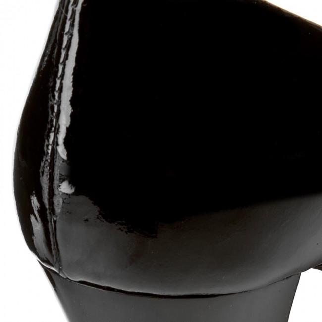 chaussures chaussures chaussures oleksy - 2100 / 542 / 000 / 000 / 000 czarny lakier - talons - bas chaussures chaussures - femmes 577441
