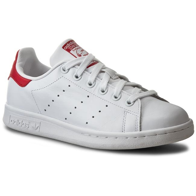 Shoes adidas - Stan Smith M20326 Runwht/Runwht/Colred - - Sneakers - Low shoes - - Women's shoes 02f570