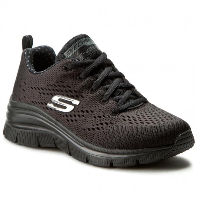 Shoes SKECHERS - Statement Piece 12704/BBK Low Black - Flats - Low 12704/BBK shoes - Women's shoes 44fab5
