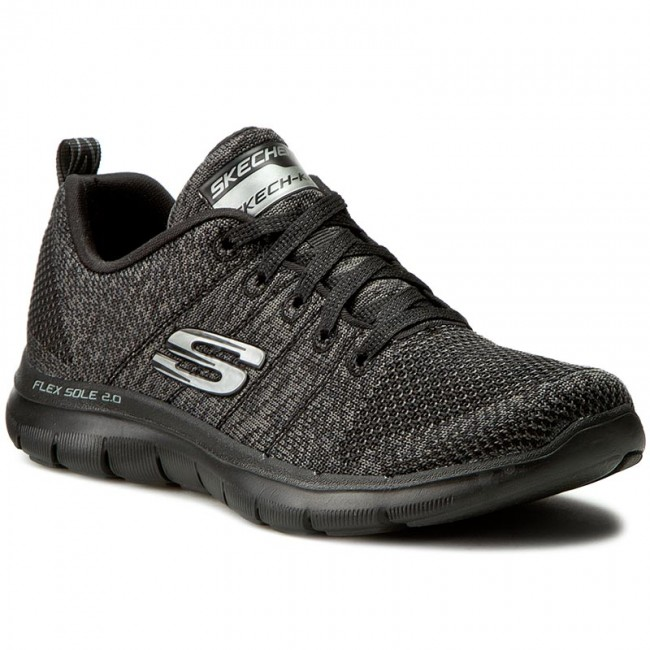 Shoes SKECHERS - High Energy - 12756/BKCC Black/Charcoal - Fitness - Energy Sports shoes - Women's shoes b805ae