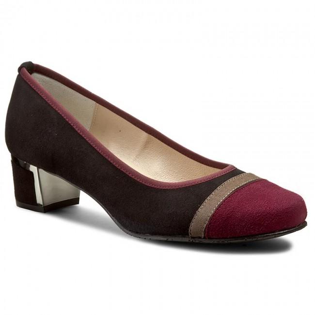 Shoes BRENDA ZARO - Ante T1088 Bordeaux - - Heels - Low shoes - - Women's shoes f29f3f