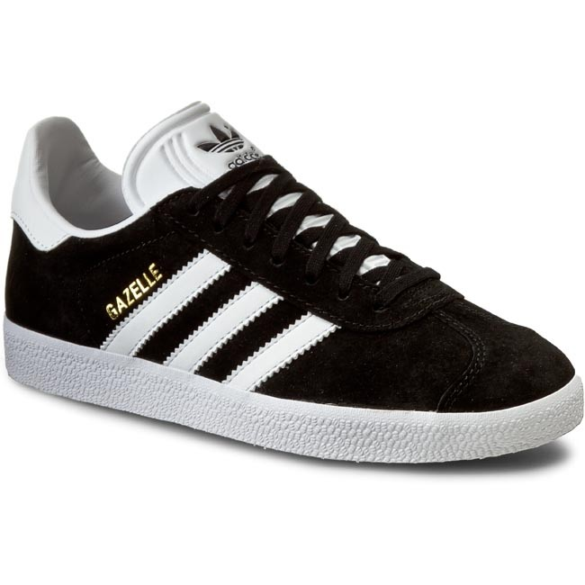 Shoes adidas - Gazelle BB5476 Cblack/White/Goldmt shoes - Sneakers - Low shoes Cblack/White/Goldmt - Women's shoes e72859