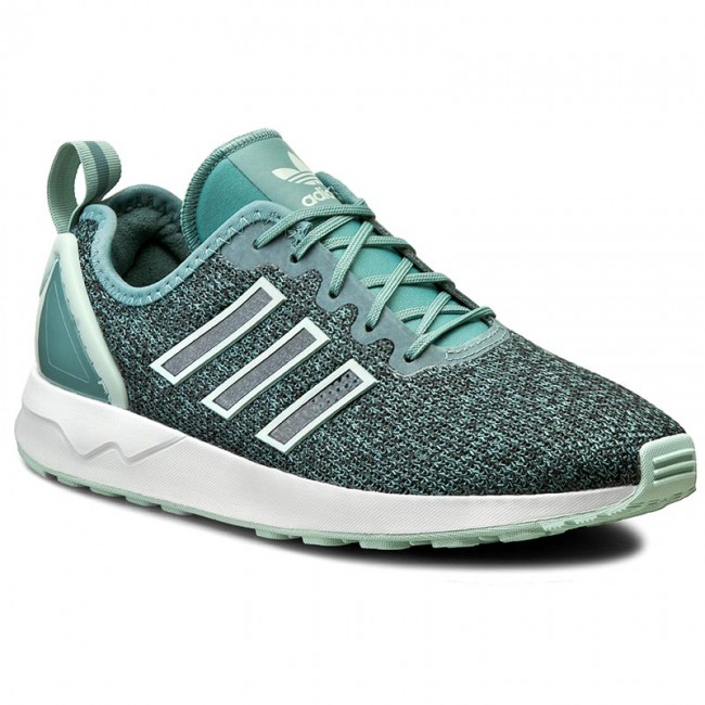 Shoes adidas S76388 - Zx Flux Adv S76388 adidas  Vapste/Vapgrn/Ftwwht - Sneakers - Low shoes - Women's shoes 4d2741