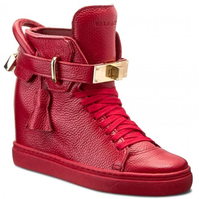 Sneakers BALDACCINI - - 803000-C Czerwony Groch - BALDACCINI Sneakers - Low shoes - Women's shoes 239942