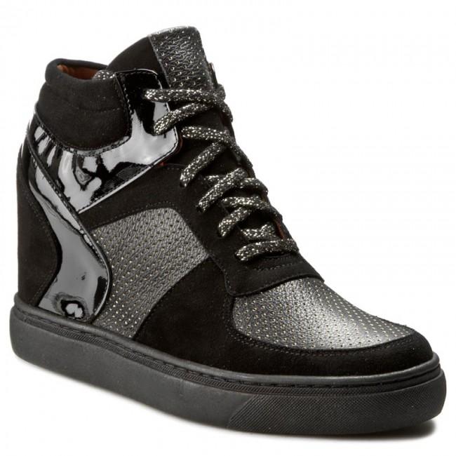 Sneakers BALDACCINI - 796000-C Cz. Zamsz/Złoty Kr/Cz. Lak - - Sneakers - Low shoes - - Women's shoes 6e46b2