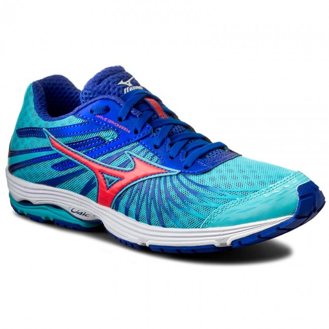 Shoes MIZUNO - Wave Sayonara 4 J1GD163055 Blue - Indoor Sports - Running shoes - Sports Indoor shoes - Women's shoes 3b6293