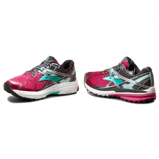 Prix fuchsia spécial——chaussures brooks - ravenne 7 120208 1b 672 fuchsia Prix Violet  / anthracite / cacatoès - indoor - tennis - chaussures de sport - chaussures de femmes. 51caa1