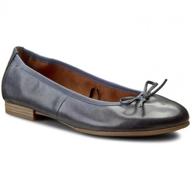 Flats TAMARIS - 1-22116-28 Denim Denim Denim 802 - Ballerina shoes - Low shoes - Women's shoes ebfad4