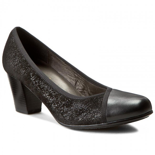 Shoes Low COMFORTABEL - 730378 Schwarz 1 - Heels - Low Shoes shoes - Women's shoes 3099a9