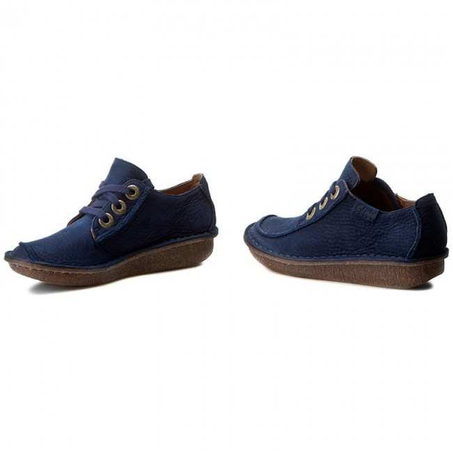 Shoes CLARKS - Funny Dream 261237514 Navy - - - Flats - Low shoes - Women's shoes bf1fd2