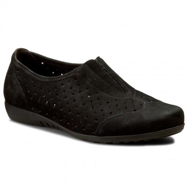 Shoes Shoes Shoes GABOR - 22.605.47 Schwarz - Flats - Low shoes - Women's shoes b1161f