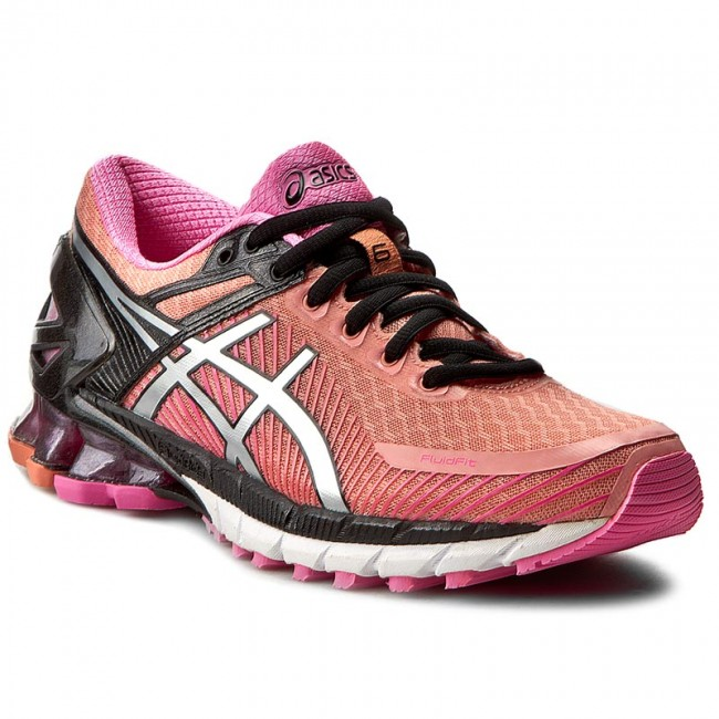 Shoes ASICS - Gel-Kinsei 6 7693 T692N Peach melba/Silver/Pink Glow 7693 6 - Indoor - Running shoes - Sports shoes - Women's shoes e5a588