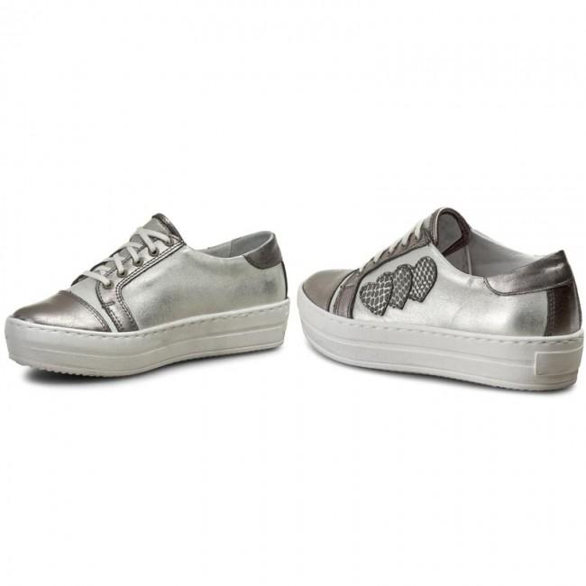 Sneakers SIMEN - 0462 VS04 Kryszt./K.Srebro/Łuska Kryszt./K.Srebro/Łuska Kryszt./K.Srebro/Łuska Ts Sz - Sneakers - Low shoes - Women's shoes 9eccfe