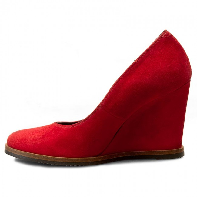 Shoes SIMEN - 0019 K.W.Rosso - Wedge-heeled - shoes - Low shoes - Wedge-heeled Women's shoes eb7761