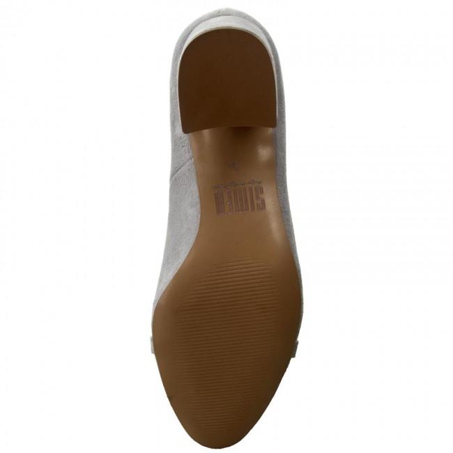 Shoes SIMEN - 0626 K.W.J.Szary shoes - Heels - Low shoes K.W.J.Szary - Women's shoes eac78f