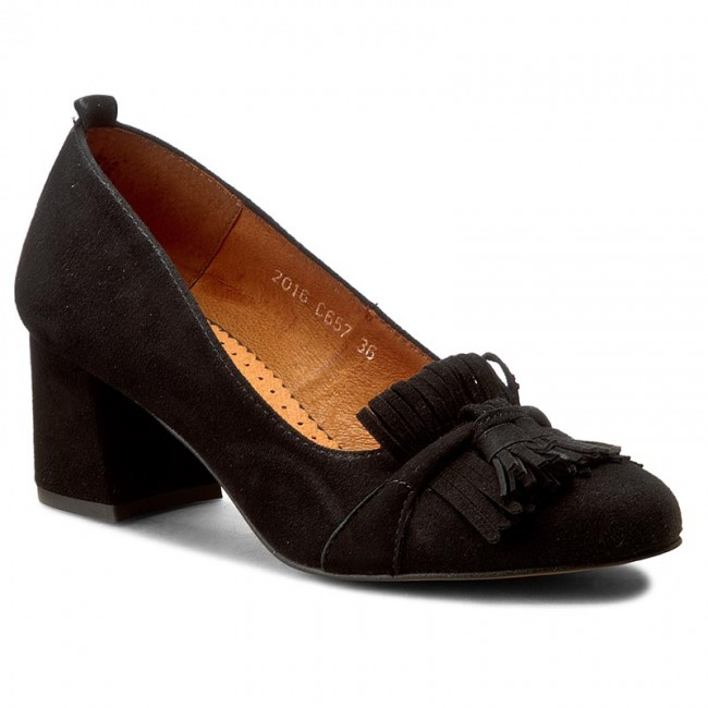 Shoes SIMEN - - - 0657 K.W.Nero - Heels - Low shoes - Women's shoes e2770d
