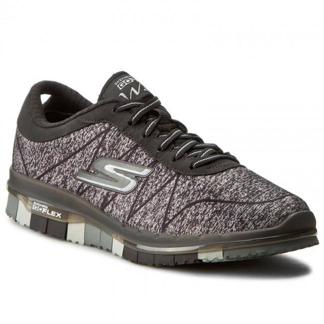Shoes Sports SKECHERS - Ability 14011/BKGY Black/Gray - Fitness - Sports Shoes shoes - Women's shoes 24c005