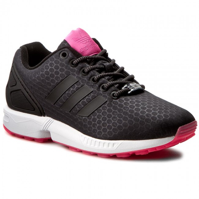 Shoes adidas - Zx - Flux W BB2254 Cblack/Cblack/Ftwwht - Zx Sneakers - Low shoes - Women's shoes 6f4d64