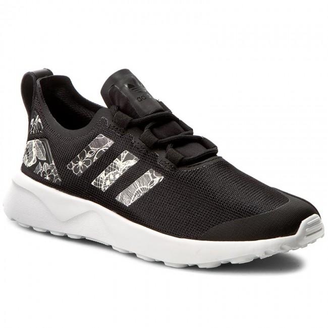 Shoes adidas - Zx Flux Adv - Verve W BB2275 Cblack/Cblack/Ftwwht - Adv Sneakers - Low shoes - Women's shoes f67b6d