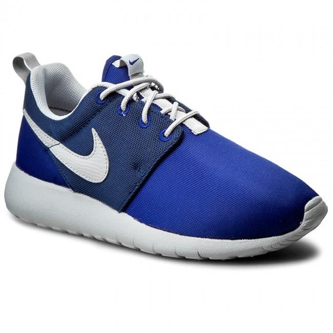 chaussures nike - roshe dp (gs) 599728 410 dp roshe bleu royal / front de libération gry / mi - nvy - tennis - bas chaussures chaussures - femmes 44d32d