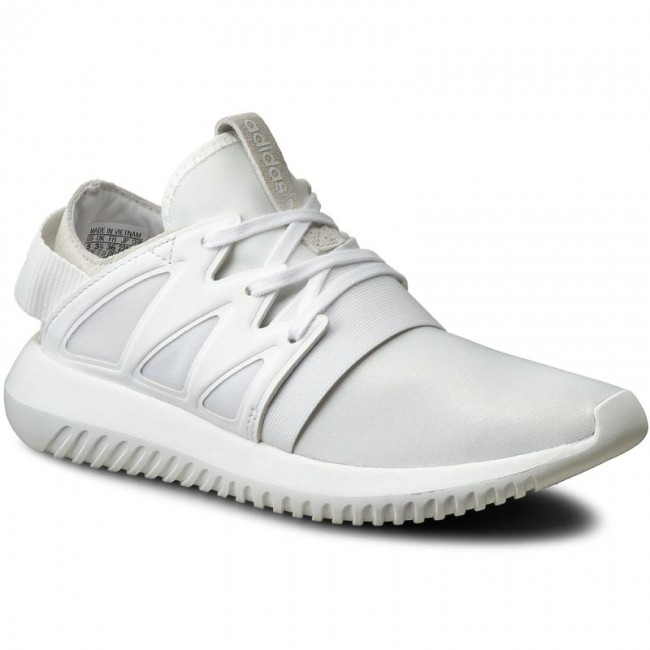 Shoes adidas - Tubular Viral W - S75583 Corewhite/Corewhite - Sneakers - W Low shoes - Women's shoes cf6ffa