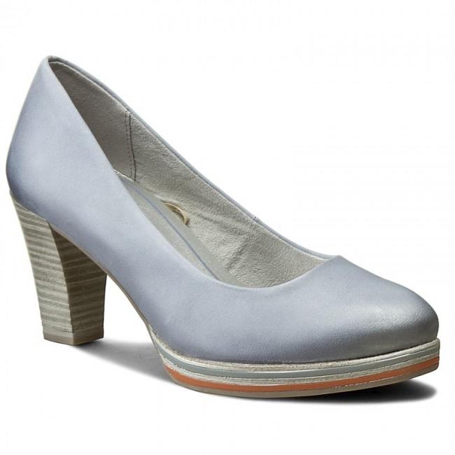 Shoes MARCO TOZZI - 2-22438-28 Bleu 858 - Heels - shoes Low shoes - Women's shoes - 9af552