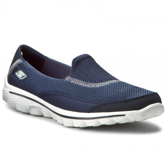 Shoes SKECHERS - Go - Walk 2 13590/NVY Navy - Go Fitness - Sports shoes - Women's shoes a426a1