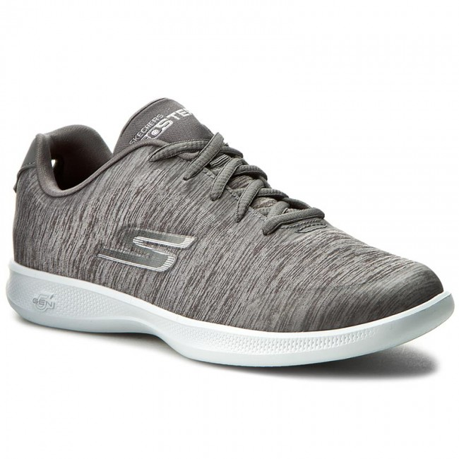 Shoes SKECHERS - Beam 14492/GRY Gray shoes - Fitness - Sports shoes Gray - Women's shoes 9c87c3