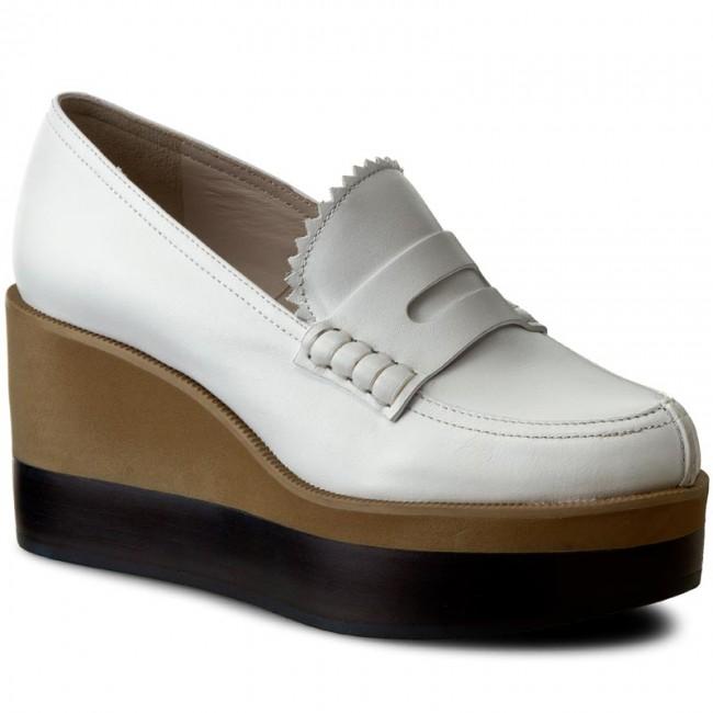 Shoes JIL SANDER NAVY - JN27034 Bianco Low - Wedge-heeled shoes - Low Bianco shoes - Women's shoes a8a48e