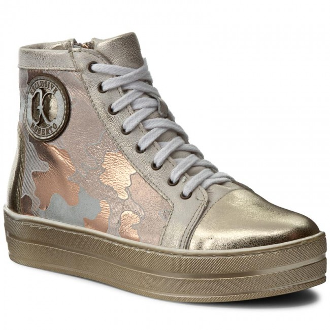 Sneakers Moro ROBERTO - 548 Złoty Moro Sneakers - Sneakers - Low shoes - Women's shoes 1f9895