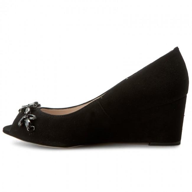 Shoes GINO ROSSI - Aurelia Aurelia Aurelia DCH353-R35-4900-9900-0 99 - Wedge-heeled shoes - Low shoes - Women's shoes 843c72
