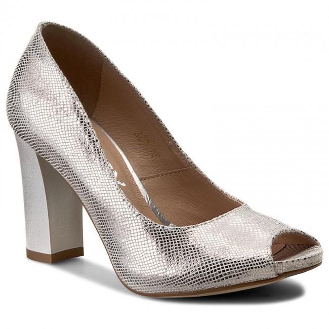 Shoes OLEKSY - 321/761 Silver - Heels Women's - Low shoes - Women's Heels shoes 809ded