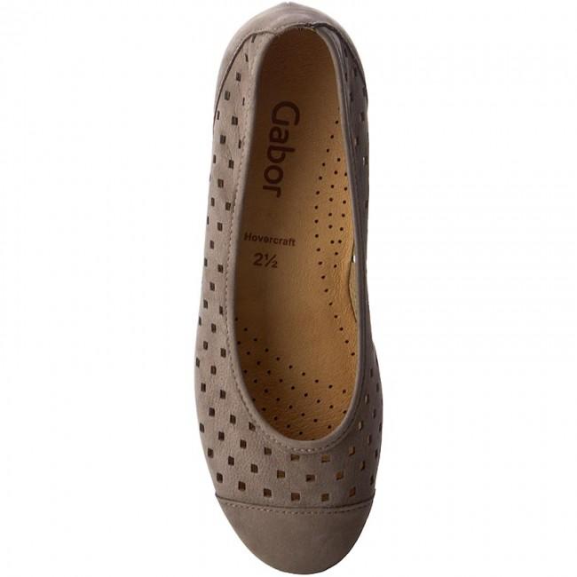 Shoes GABOR GABOR GABOR - 64.169.13 Fumo - Flats - Low shoes - Women's shoes b56fa9