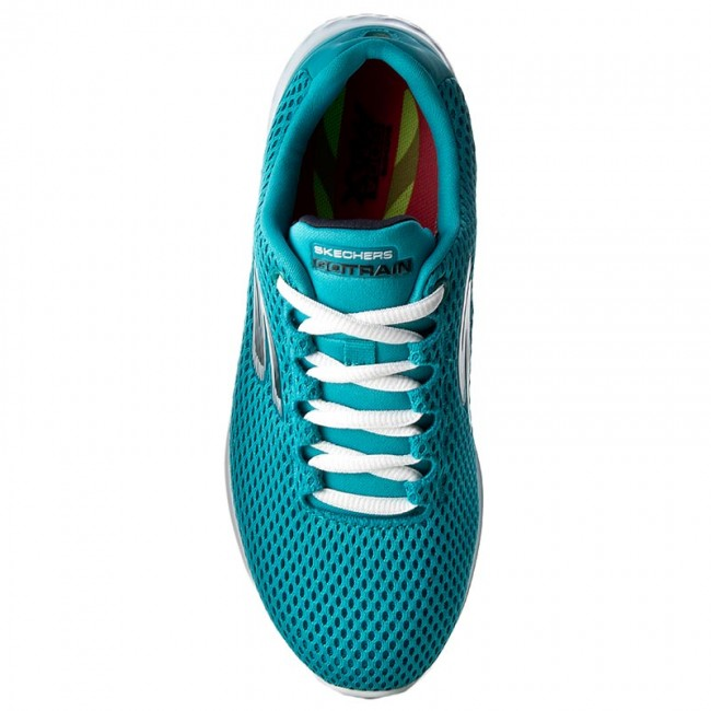 Shoes SKECHERS - Hype 14830/TURQ Turquoise - Fitness - Sports Sports Sports shoes - Women's shoes 41f225