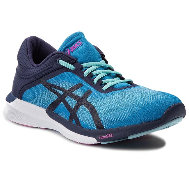 Shoes ASICS - FuzeX Rush T768N   Diva/Indigo Blue/White 4349  T768N - Indoor - Running shoes - Sports shoes - Women's shoes f6b847