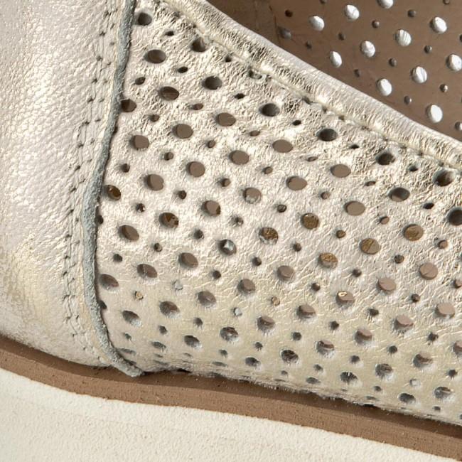 Shoes EKSBUT - 4292-F98/672-1G Gold - - - Flats - Low shoes - Women's shoes d008d6