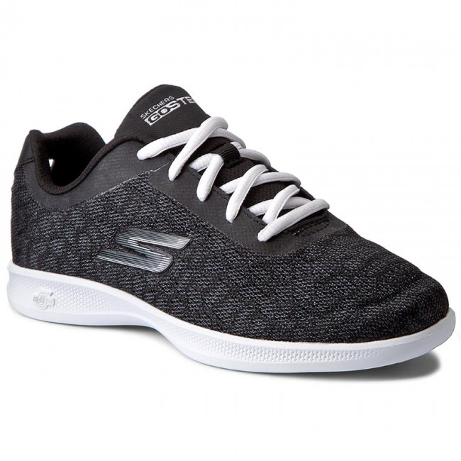 Shoes SKECHERS - Radiancy 14486/BKW Black/White shoes - Fitness - Sports shoes Black/White - Women's shoes e06756