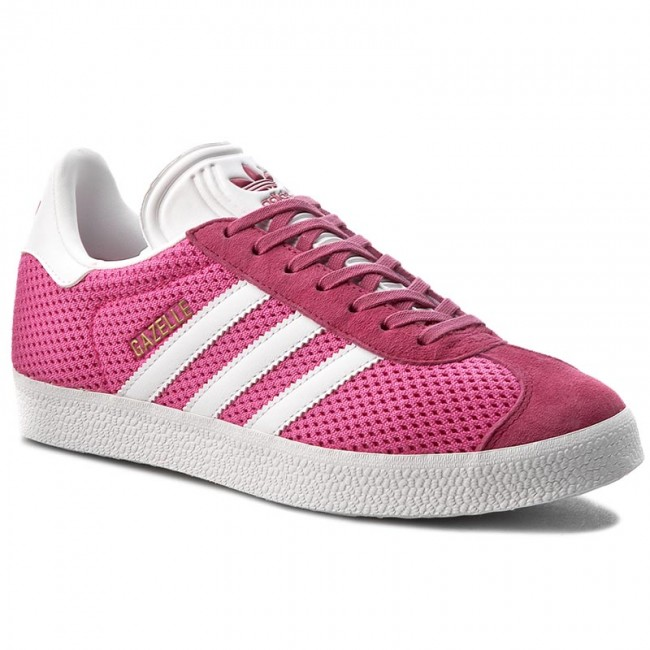 Shoes Low adidas - Gazelle BB2759 Shopin/Ftwwht/Shopin - Sneakers - Low Shoes shoes - Women's shoes ae7316