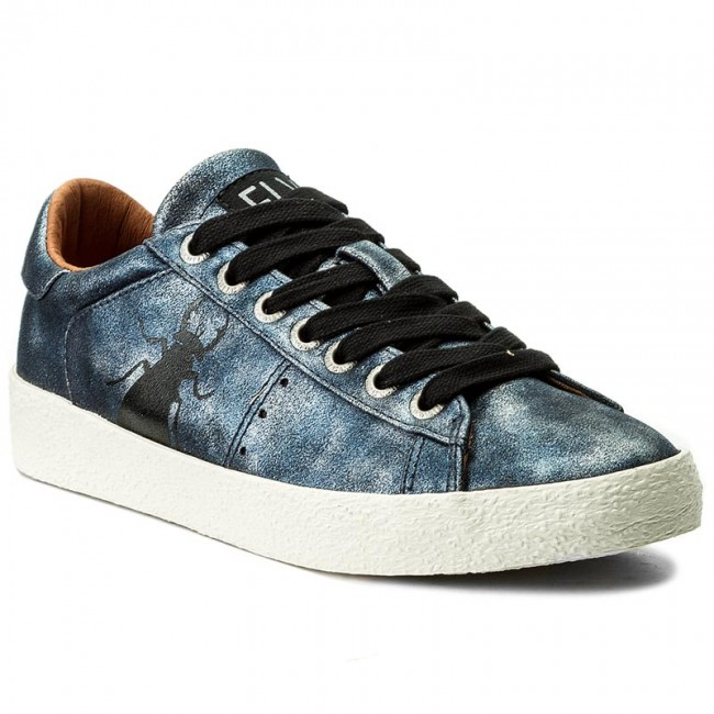 Shoes FLY LONDON - Bergfly - P143823012 Navy - Sneakers - Bergfly Low shoes - Women's shoes 061c56