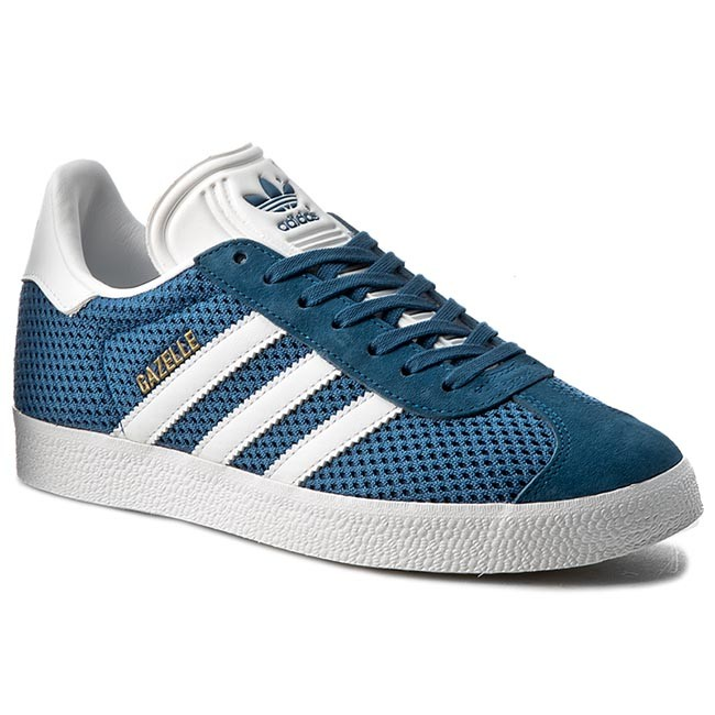 Shoes adidas - Gazelle - BB2757 Corblu/Ftwwht/Corblu - Sneakers - Gazelle Low shoes - Women's shoes f1a6f2