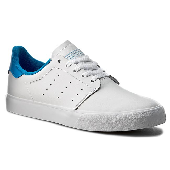 836a20eda9a1 Shoes Shoes Shoes adidas - Seeley Court BB8587 Ftwht Ftwht Brblue -  Sneakers - Low shoes - Women s shoes d1bf54