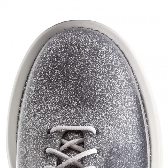 chaussures melissa - grunge     vitorino camp 32227 Blanc  / verre glitter Argent  52969 - wedge heeled Chaussure s - bas chaussures chaussures - femmes 380536