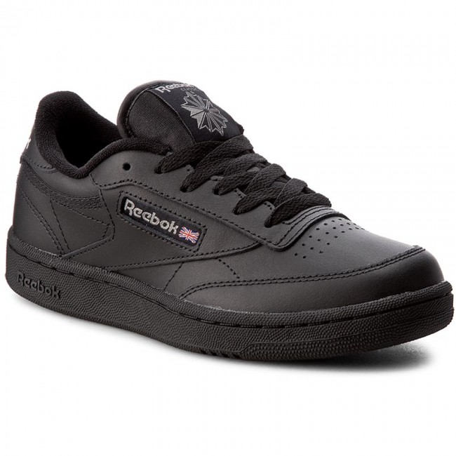 Shoes Reebok - Club C BS6165 Low Black/Charcoal - Sneakers - Low BS6165 shoes - Women's shoes cef47d