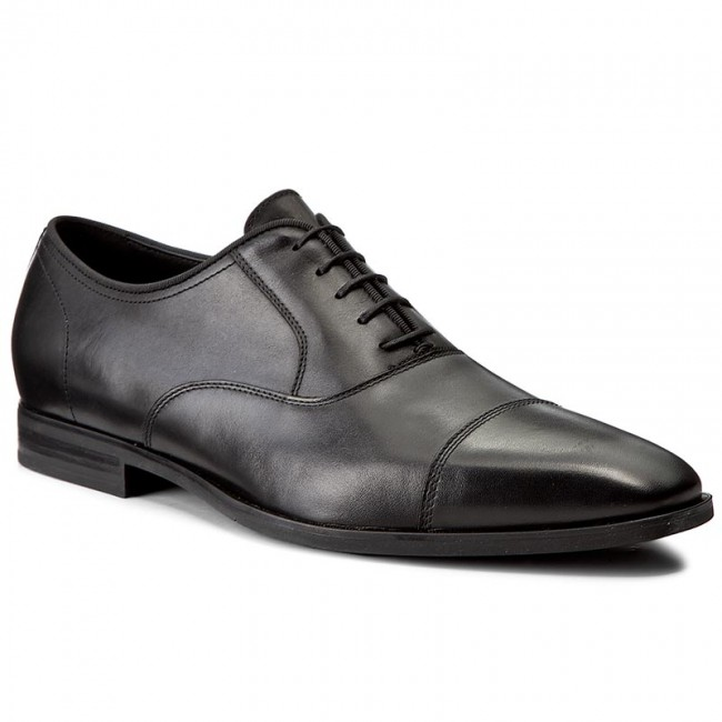 Nouvelles étagères——chaussures geox - formelle u nouvelle vie e u74p4e formelle - 00043 c9999 noir - chaussures chaussures chaussures basses - hommes d8d87d