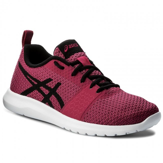 Shoes ASICS - Kanmei T7H6N Indoor Cosmo Pink/Black/Plune 2090 - Indoor T7H6N - Running shoes - Sports shoes - Women's shoes f3d670