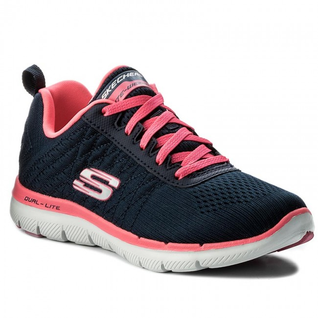 Shoes SKECHERS - Break Free 12757/NVHP Navy/Hot Pink shoes - Fitness - Sports shoes Pink - Women's shoes 3dbe72
