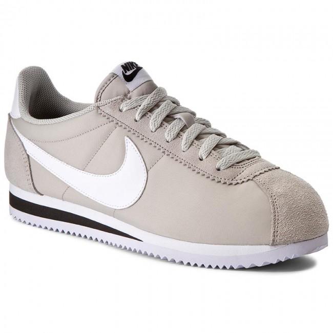 f2a94142edbd Shoes NIKE - Classic Cortez Nylon 807472 Sneakers 006 Pale Grey White Black  - Sneakers 807472 - Low shoes - Men s shoes bddf72