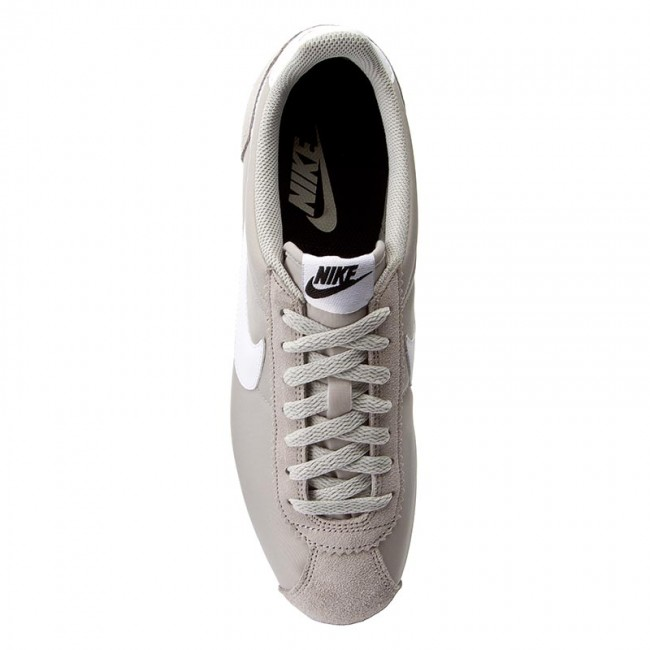 d2eafaf43524 ... Shoes NIKE - Classic Cortez Nylon 807472 Sneakers 006 Pale Grey White Black  ...