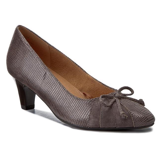 Shoes Low CAPRICE - 9-22407-29 Anthraci.Comb 235 - Heels - Low Shoes shoes - Women's shoes ef773d